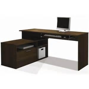 bestar modula l shape workstation tuxedo computer desk ebay