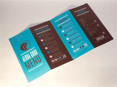 leaflet design inspiration 2015 30 inspired restaurant menu brochure designs you must see