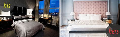 feminine  masculine bedrooms