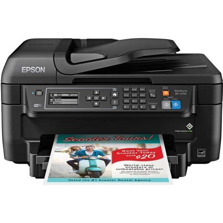 color printer scanner epson workforce wf 2750 all in one wireless color printer