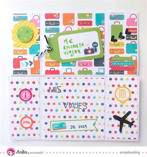 tutorial tarjetas scrapbook tutorial tarjeta sin fin o never ending card decoraci 243 n