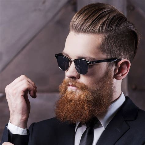 Hairstyles With Beard by S Hairstyles Beards Trends 2017 Hairstyles