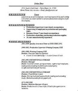 sle basic resume 21 documents in word