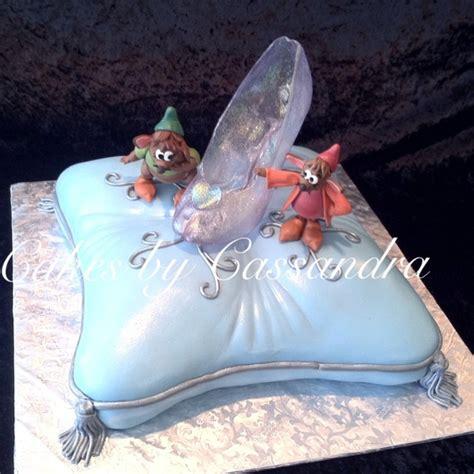 cinderella slipper cake cinderella cake cinderella s glass slipper on pillow
