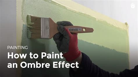 How to Paint a Room: Ombre Effect   Household DIY Projects