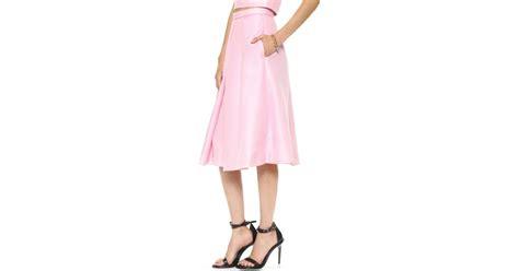 Clover Clothing Skirt Set Flozana 1 tibi simona jacquard skirt clover pink in pink lyst