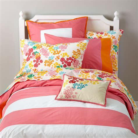girls bedding sheets duvets pillows the land of nod