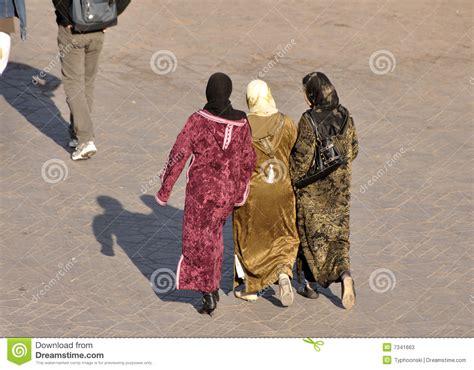 muslim women stock photos and images 7366 muslim women muslim women in marrakech stock photos image 7341663