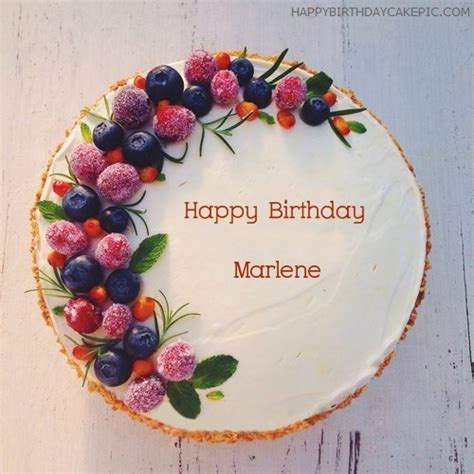 birthday cakes  marlene