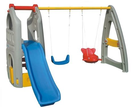 plastic swing and slide playset new interesting used outdoor plastic playground set kid