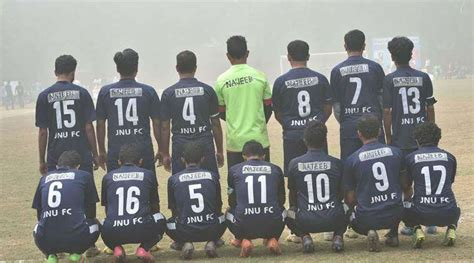 Football Names For Mba Students by Jnu Football Team Sports Quot Najeeb Quot Name Of The Missing