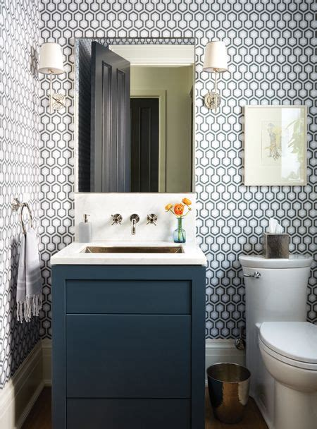 Wallpaper Ideas For Small Bathroom by 17 Best Ideas About Small Bathroom Wallpaper On
