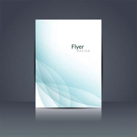 flyer design programm kostenlos abstrakt wellenmuster flyer design download der