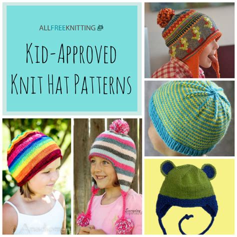 knitting pattern youth hat 26 kid approved knit hat patterns allfreeknitting com