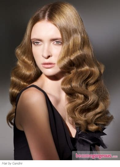 Hairstyles With Waves by Pictures Hairstyles Glam Finger Waves Hairstyle
