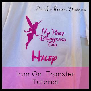 avery iron on transfer paper uk pamela renee designs picture tutorial how to use iron on