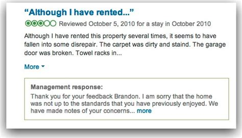 service tool v3400 not responding how to respond to negative vacation rental guest reviews