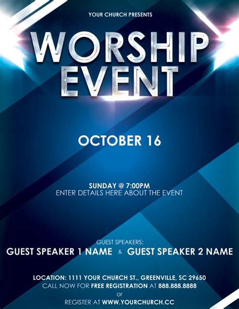 Free Event Flyer Design Templates