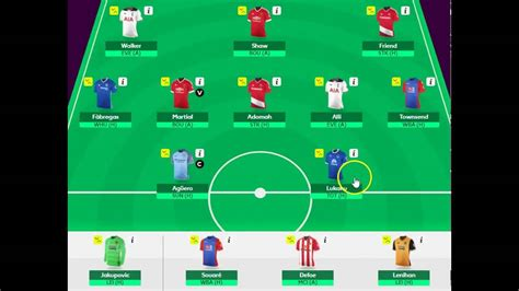 epl draft first draft who to pick for the 2016 17 fantasy premier