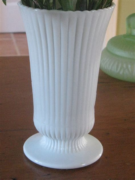 Milk Glass Vases In Bulk by E O Brody Ribbed Milk Glass Vase 171 E O Brody 171 S
