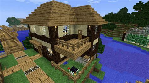 Holz Und Stein Haus Pläne by ᐅ Haus Aus Holz Und Sandstein In Minecraft Bauen