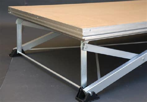pedane modulari piattaforme modulari pedane modulozeta fomet torino