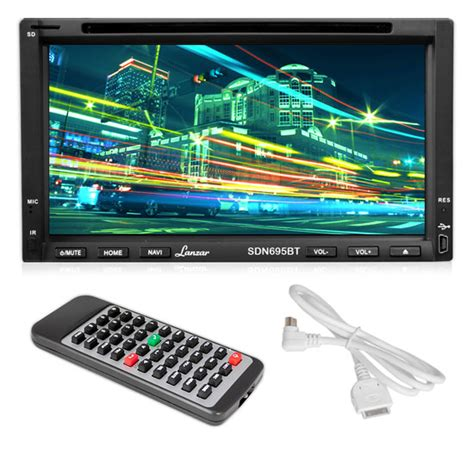 Sansui Din 695 Bt Tv Tuner 6 95 din touchscreen dvd mp4 mp3 cd player with free bluetooth rbsdn695bt