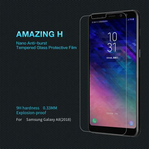Special Samsung A8 Tempered Glass Screen Protector Anti Gores Ka nillkin amazing h tempered glass screen protector for samsung galaxy a8 2018