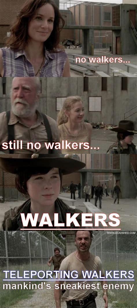 Walking Dead Meme Season 3 - image the walking dead season 3 teleporting walkers meme deadshed jpg walking dead wiki