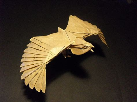 origami bald eagle origami 3d paper you might never seen before