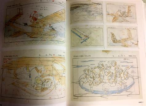 ghibli layout book studio ghibli layout designs ground works art book anime