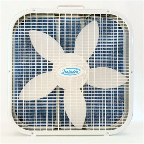 window fan with washable filter fan buddie washable box fan air filter 20 quot filter only