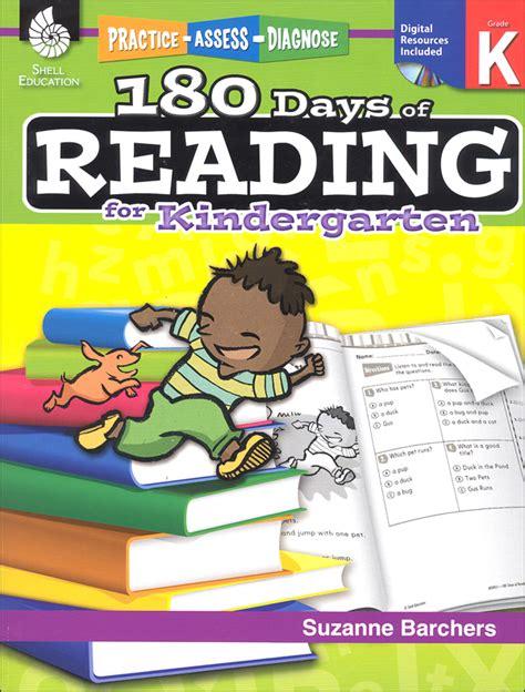 180 days of reading for kindergarten 180 days of practice 180 days of reading kindergarten 030397 details