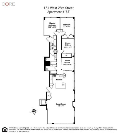 narrow apartment floor plans long narrow apartment floor plans gurus floor