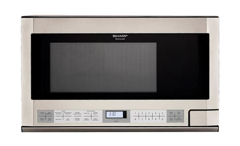 Microwave Sharp R 249 In r 1214 ty 1 5 cu ft steel the counter microwave