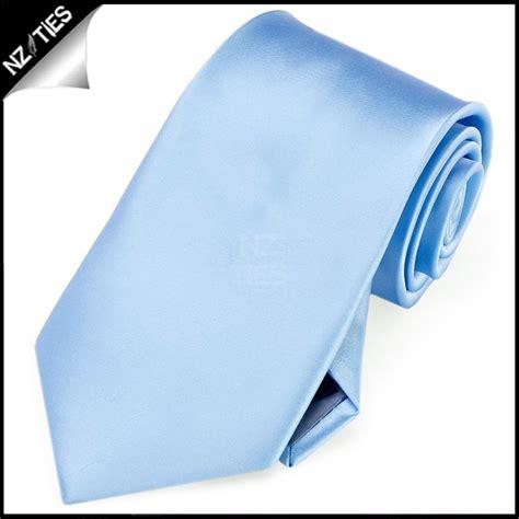 boys sky baby blue plain necktie nz ties