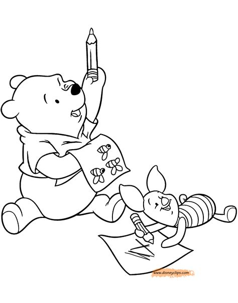 www coloring pages book for winnie the pooh friends coloring pages disney coloring