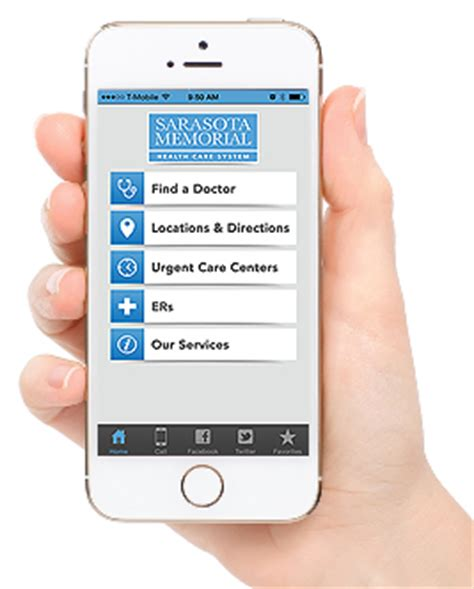 hospital wayfinding app released by sarasota memorial uses