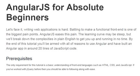javascript tutorial for absolute beginners 10 best angularjs tutorials for web developersyour digital