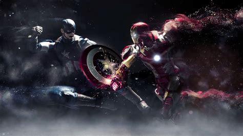 captain america moving wallpaper dreamscene animated wallpaper iron man and captain