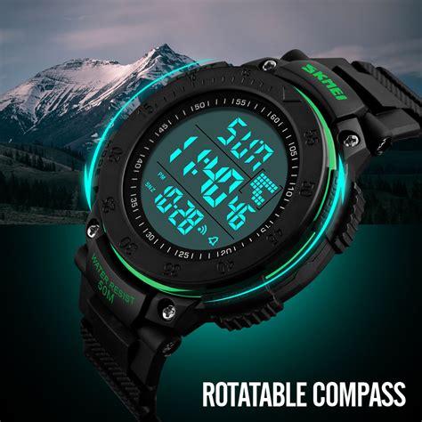 Jam Tangan Pria Suunto Digital Premium skmei jam tangan digital pria dg1237 black blue jakartanotebook
