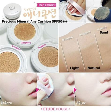 etude house precious mineral any cushion spf50