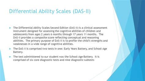 differential ability scales sle report differential ability scales sle report 28 images