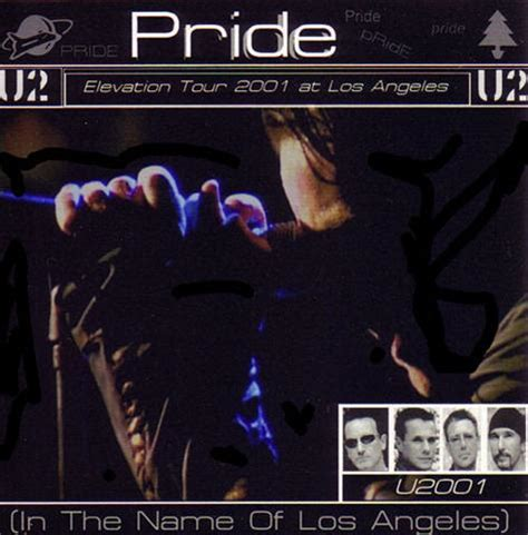Pride In The Name Of by U2 Pride In The Name Of Los Angeles 2cd Giginjapan