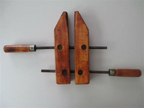 antique jorgensen wood screw clamp pat  adjustable