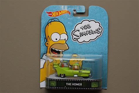 Hotwheels Retro The Simpsons The Homer wheels 2014 retro entertainment the homer the simpsons