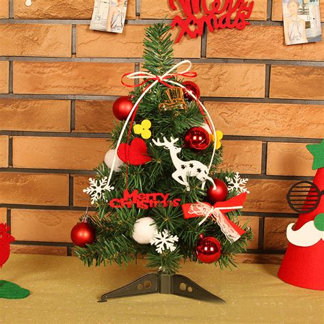 fashion felt cloth pvc merry christmas decoration mini
