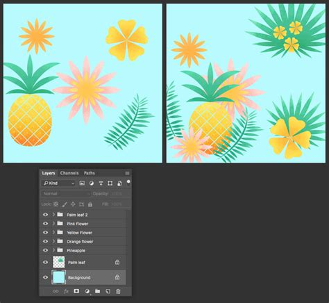create pattern in photoshop elements how to create and apply a tropical seamless pattern in