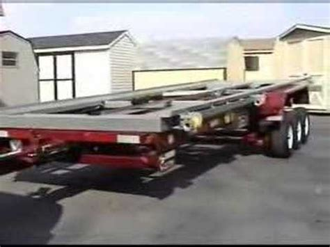 shed trailer common options  youtube