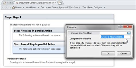 sharepoint 2010 workflow variables run only one not all of parallel actions with sharepoint